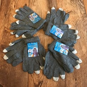 Other - Wholesale Gloves Touchscreen Winter Acrylic Gray